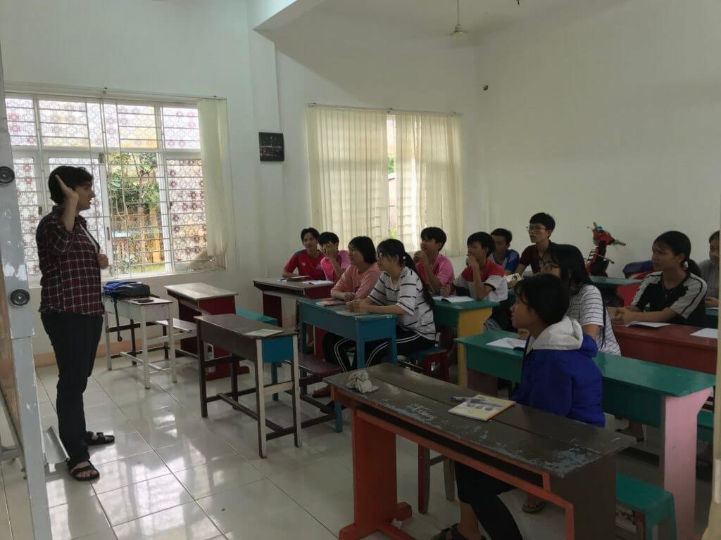 Teaching for charity